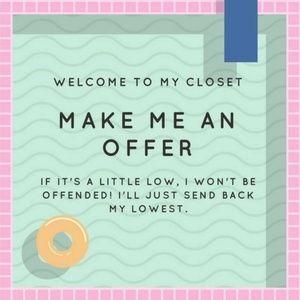❤ Make me an Offer ❤